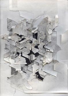 Boris Tellegen - Delta / din a4 isometric paper ripsDiversions