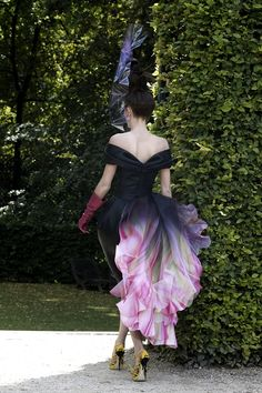 """From the book """"Dior Fashion"""":  Haute Couture Colection FW 2010.   Foto courtesy Christian Dior Couture"""