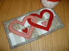 mug rugs quilted - Pesquisa Google