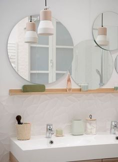 Home sweet home lyon place sathonay apartment renovation works agency Bad Inspiration, Bathroom Inspiration, Style At Home, Sweet Home, Apartment Renovation, Laundry In Bathroom, Bathroom Colors, Bathroom Mirrors, Bathroom Ideas