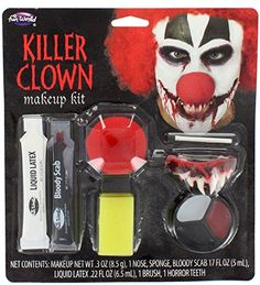 Fun World Killer Clown Make Up Kit ** Check out the image by visiting the link.