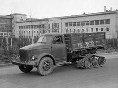 ГАЗ 51 Снегоболотоход Опытный (1953)