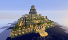 The Hanging Garden of Babylon Minecraft Project