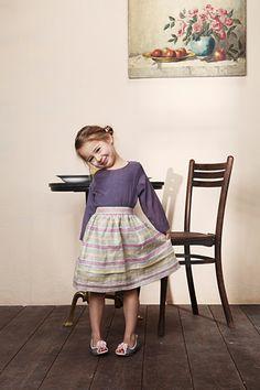 Tellerrock mit Bluse für kleine Ladies  (free skirt+Blouse Pattern)
