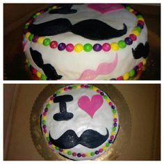 #ilovemustaches #mustaches #skittles #cake #colours