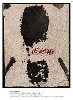 Antoni Tàpies: Texture and Image  Fecha de inauguración:14 Diciembre de 2012  Fecha de finalización:18 Marzo de 2013  Organiza y/o se celebra:  -Bechtler Museum of Modern Art