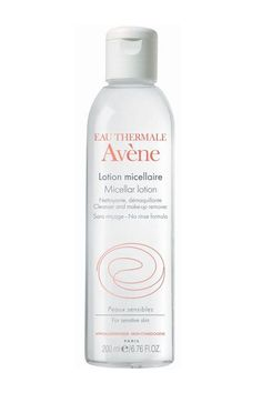 """Dr. Graf is a fan of this cleanser and makeup remover because it """"is a hydrating formula that is also alcohol-free, non-comedogenic, and hypoallergenic; gentle enough for sensitive skin; and has soothing Avène Thermal Spring Water.""""Avène Micellar Lotion Cleanser and Make-Up Remover, $20, available at SkinStore. #refinery29 http://www.refinery29.com/astringent#slide-1"""