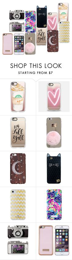 """""""iPhonex"""" by efrat-kazoum on Polyvore featuring Casetify, Kate Spade, Lilly Pulitzer and Ted Baker"""