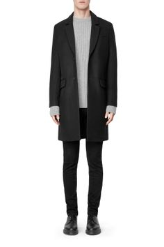 Weekday Spencer Coat // http://shop.weekday.com/gb/Mens_shop/Jackets_Coats/Spencer_Coat/542220-8908415.1#c-49930