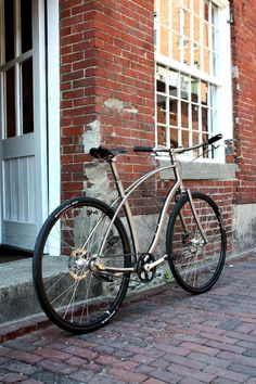 Side/entrance/backyard. Beautiful bike will always be on the ready.
