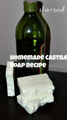 Make wonderful homemade castile soap using the hot process soap making method.