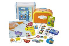 Little Passports - A Global Online Adventure for Children and Kids (educational games, activities, learning, toys) - Early Explorers Subscription Subscriptions For Kids, Subscription Boxes For Kids, Subscription Gifts, Monthly Subscription, Educational Games For Kids, Educational Toys, Montessori, Little Passports, Early Explorers