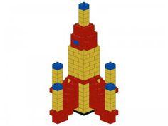Duplo vehicle - Rocket instructions #LegoDuploParty