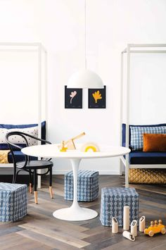 Stylist Megan Morton shares 5 smart updates for design-savvy bedrooms Unisex Bedroom Kids, Kids Bedroom, Kids Rooms, Interior Stylist, Modern Traditional, Dining Bench, Dining Rooms, Bedroom Styles, Room Decor