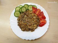 Baklažánový raj (fotorecept) - recept | Varecha.sk Risotto, Ale, Ethnic Recipes, Food, Ale Beer, Essen, Meals, Yemek, Eten