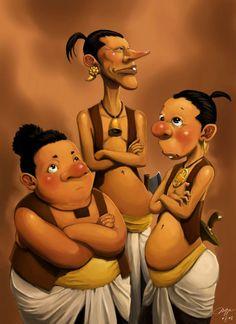 ini persembahan kami utk ulang taon Gundala yg ke 40..... mungkin baru segini dulu yg bisa kita sumbangkan buat komik indonesia......mudah2an kedepan kita bisa buat komik nya ga sekedar satu lembar...