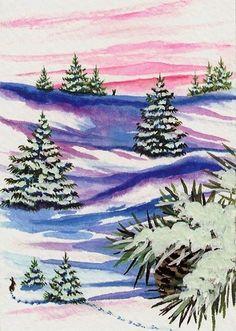 """""""Winter Wonders Rabbit"""" par AmyLyn Bihrle"""