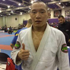 Byung Lee wins 5 matches and is NY Open Blue Belt Lightweight champion. #ibjjf #jiujitsu #bjj #bluebelt #nysummeropen