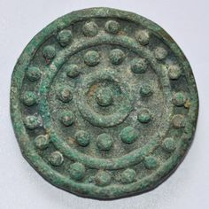 Amlash bronze ring 47, 1st millenium B.C. Private collection For more bronze Amlash rings please visit  https://it.pinterest.com/andreacanecane/amlash-bronze-rings/?etslf=4839&eq=rings