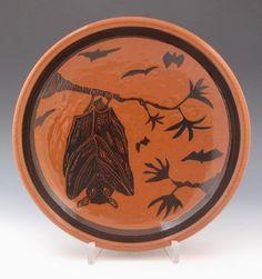 ron philbeck plate #ceramics