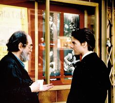 "Stanley Kubrick and Tom Cruise Behind the scenes of ""Eyes Wide Shut"""