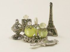 Dollhouse Miniature Perfume Bottle Collection by dalesdreams
