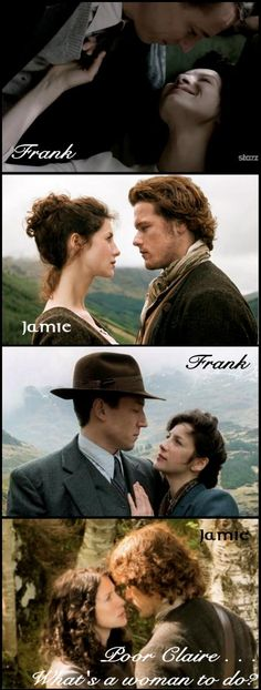 Frank/Jamie/Frank/Jamie - what's a woman to do?? :) Well, duh, I know what I'D do!! #TeamJamie