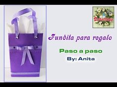 Fundita para regalo / Paso a paso - YouTube