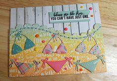 20 vind-ik-leuks, 1 reacties - Debbie Johnson (@robsgirldebbie) op Instagram: 'My bikinis are drying! #cardmaking. #papercrafts #creativelife #simonsaysstamp #nicholspohr'