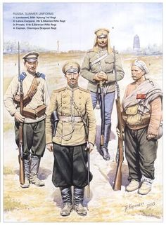 Russo-Japanese war era russian uniforms???!!! - Page1