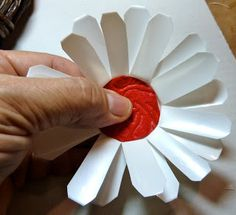 Make it easy crafts: Patriotic K-Cup Flower Wreath