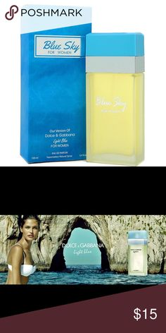 """Version of Dolce Gabbana """"Light Blue"""" High quality imitation that has the same great scent, but without the designer price!! Accessories"""