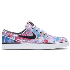 """Nike SB Stefan Janoski """"Cherry Blossom"""" ($150) ❤ liked on Polyvore featuring men's fashion, athletic shoes and shoeclub"""