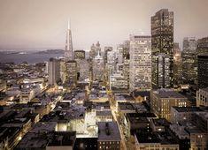 """Fototapeten 8-709 """"Urban"""" - San Francisco – Urbaner Lifestyle für stilvolles Wohnen"""