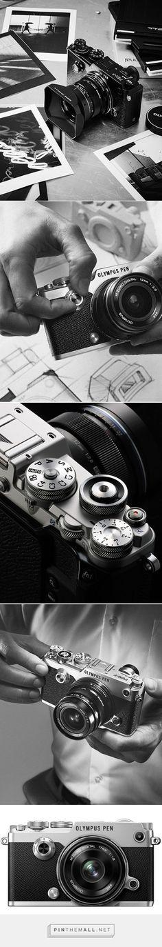Olympus Pen F | digital camera | product design #OlympusCamera