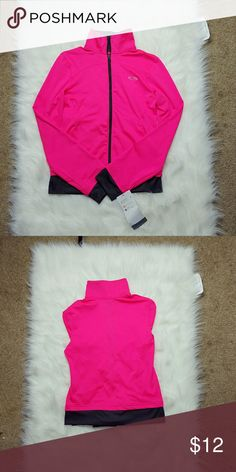 NWT Champion Bright Pink Zip Up Sweater New with tags! Size 7/8 Champion Shirts & Tops Sweatshirts & Hoodies