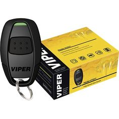 Viper - Remote Start System with Interface Module and Geek Squad Installation - Black - Larger Front