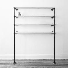 Stahlrohr wandflansch steel pipe wall flange for Garderobe wasserrohr