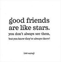 Good friends quote