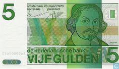 Vijf Gulden biljet; Wat kon je daar toen veel voor kopen.....