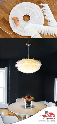 Mira cómo puedes transformar una lámpara de papel en un objeto digno de admiración.