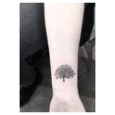 Tree Wrist Tattoo