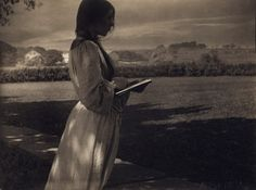 VINTAGE PHOTOGRAPHY: Gertrude Käsebier, The Sketch (Beatrice Baxter) 1903