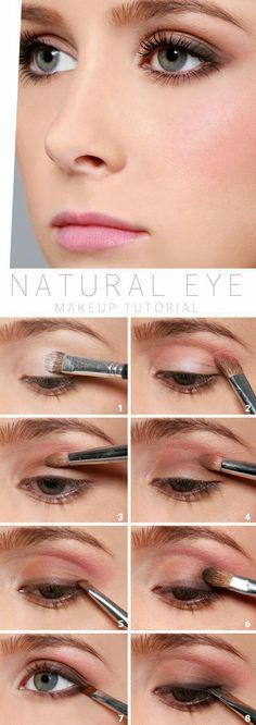Natural eye, maquiag