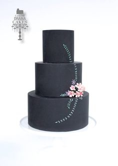 C is for chalk board cake