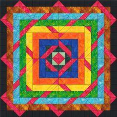 Woven Diamonds Quilt Pattern