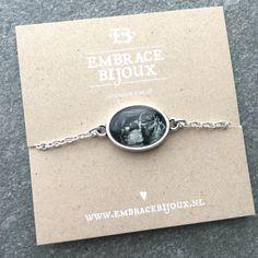 Een heel bijzonder cadeau, dit armbandje met echo foto! Een bijzonder cadeau om te geven en om te krijgen. Babyshower, kraamcadeau, baby, moeder, kind, echo, sieraad, geboorte