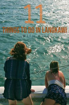 Many of the top Langkawi beach activities will include jet skis, parasailing, skiing, wakeboarding or going on a cruise to see the islands. These are all things you can do in Langkawi with kids or without them too.  Malaysia | Langkawi Island | Langkawi with kids | family vacation in Langkawi | Asia South East Asia | things to do in Langkawi | what to see in Langkawi | Langkawi attraction