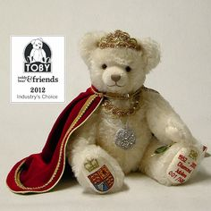 The Queen's Diamond Jubilee Teddybär - Teddy-Fabrik - Der offizielle HERMANN-Coburg Teddy-eShop