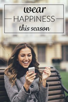 Wear happiness this season.